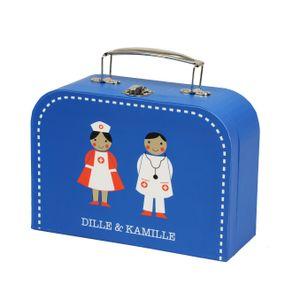 Dokterskoffertje met houten accessoires