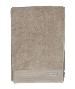 Drap de bain, coton bio, taupe clair, 70 x 140 cm