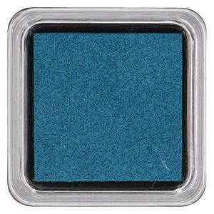 Encre à tampon, bleu foncé 5 x 5 cm