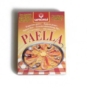 Épices pour paella, 5 sachets de 3 grammes