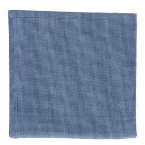 Essuie de vaisselle, coton bio, bleu chiné, 50 x 70 cm