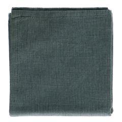 Essuie de vaisselle, coton bio, vert chiné, 50 x 70 cm
