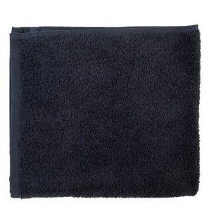 Essuie-mains, coton bio, bleu nuit