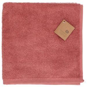 Essuie-mains, coton bio, rose foncé, 50 x 50 cm