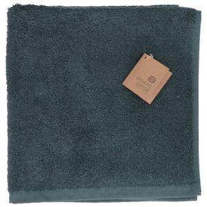 Essuie-mains, coton bio, vert foncé, 50 x 50 cm