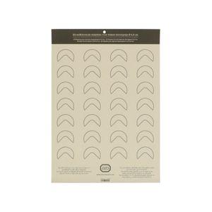 Etiketten für Streudeckel-Gewürzgläser, selbstklebend