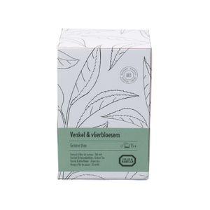 Fenchel & Holunderblüte, grüner Tee, 15 Teebeutel
