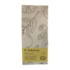 Fraise & agrumes, Mélange pour thé glacé, 75 g
