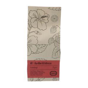 Fraise & hibiscus, Mélange de fruits, 75 g