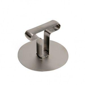 Garneerring aandrukker, roestvrij staal, Ø 8,7 cm