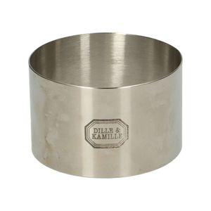 Garnier-Ring, rostfreier Stahl, Ø 9 cm