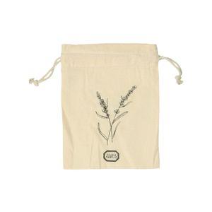 Geschenkbeutel Lavendel, Bio-Baumwolle, 19 x 22 cm