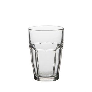 Glas met facetten, hittebestendig, 37 cl