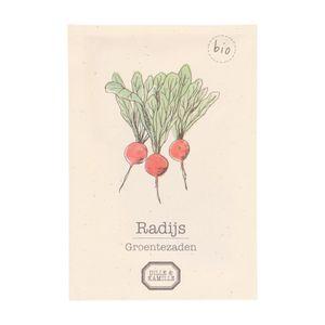 Graines de radis, biologique