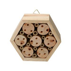 Hôtel à abeilles, hexagonal, empilable