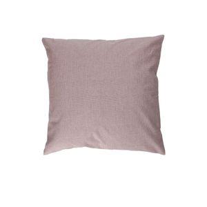 Housse de cousin, coton bio, violet chiné, 45 x 45 cm