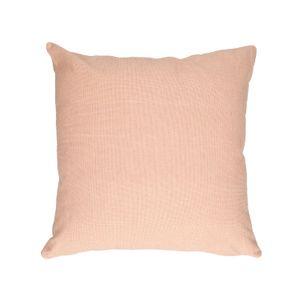 Housse de coussin, coton bio, sienna chiné, 45 x 45 cm