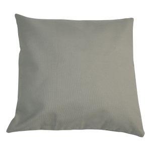 Housse de coussin, coton, vert tendre, 60 x 60 cm
