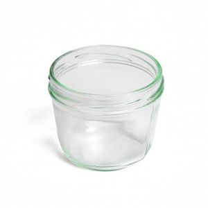 Inmaakpot, glad, deksel apart verkrijgbaar, 230 ml