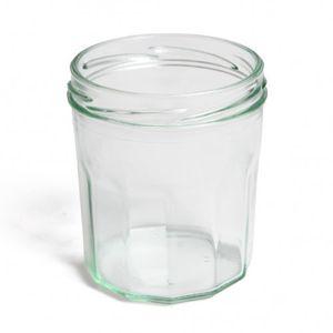 Inmaakpot met facetten, deksel apart verkrijgbaar, 324 ml