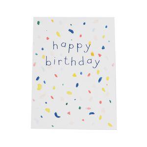 Kaart, happy birthday
