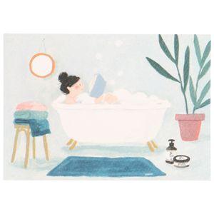 Kaart, lezen in bad