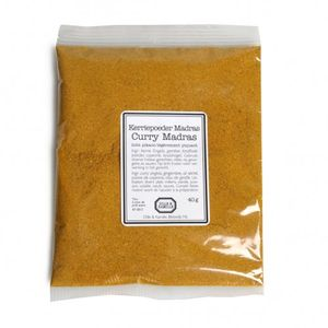 Kerriepoeder Madras, 40 gram