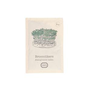 Kiemgroente, biologisch, broccolikers