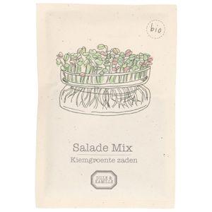 Kiemgroente, biologisch, salade mix