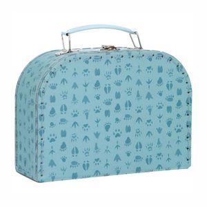 Koffertje, pootafdruk, middelgroot, 3 jaar en ouder