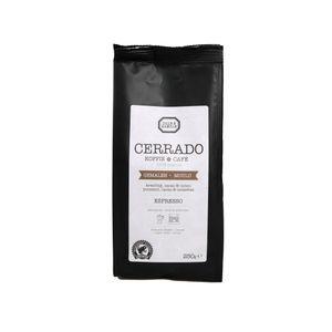 Koffie Cerrado, espresso, maling, 250 gram
