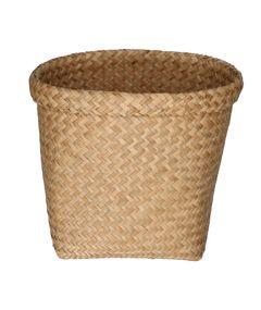 Korb mit Rand, Seegras, 30 x 25 cm