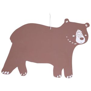 Krijtbord beer, 52 x 38 cm