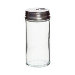 Kruidenpotje met strooideksel, glas, 90 ml