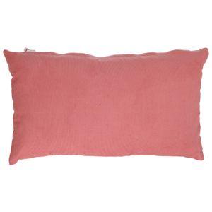 Kussenhoes, corduroy, oud roze, 30 x 50 cm