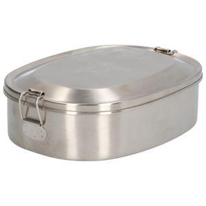 Lunchbox, rostfreier Stahl, 18,5 x 14,5 cm