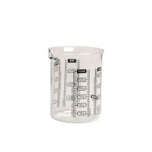 Maatbeker, glas, 250 ml