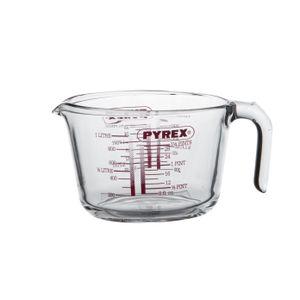Maatbeker Pyrex, glas, 1 liter