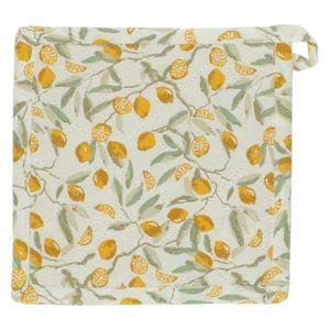 Manique, coton bio, citrons