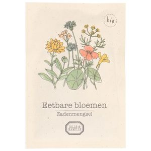 Mélange de graines biologiques, fleurs comestibles