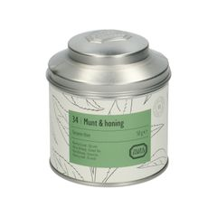 Menthe & miel, Thé vert, boîte, 50 g