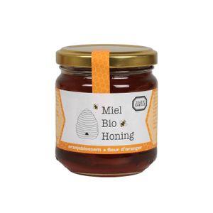Miel, fleur d'oranger, biologique, 250 g
