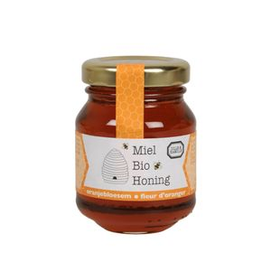 Miel, freur d'oranger, biologique, 110 g