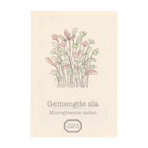 Mikrogemüse (Microgreens), gemischter Salat