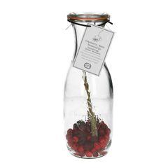 Mix voor fruitig tafelwater, cranberry en kers