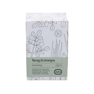Moringa en citroengras, Kruidenmelange, 15 theebuiltjes