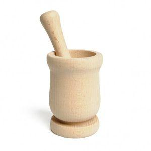 Mortier, bois de hêtre, Ø 7 cm