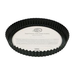 Moule à tarte à fond amovible, métal, Ø 28 cm