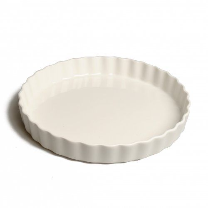 Moule à tarte/quiche en porcelaine, Ø 30 cm