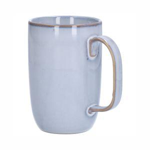 Mug email réactif, grès, gris, 12 cm